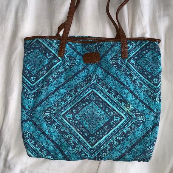 Billabong Handbags - Billabong Blue Beach Bag (Large)